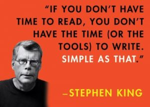 5 Reasons I'm Ignoring Stephen King's Advice